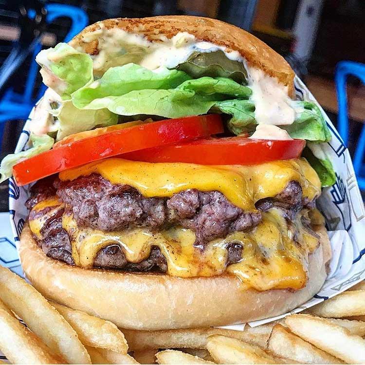 Royal Stacks Burger